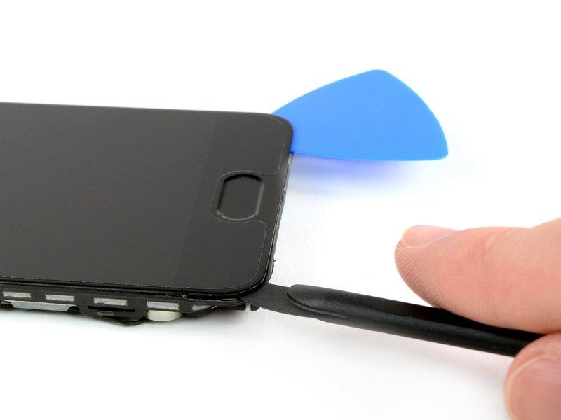 یک قاب بازکن دیگر را زیر صفحه نمایش و در گوشه سمت چپ قرار دهید.