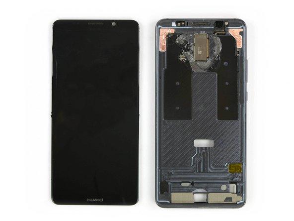 صفحه نمایش را از دستگاه موبایل جدا کنید.