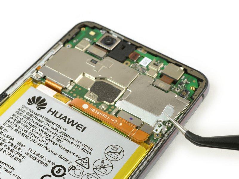 صفحه متصل کننده باتری را بردارید.