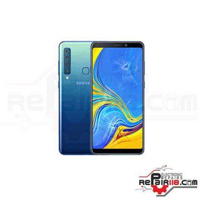 قیمت تعویض گلس ال سی دی گوشی سامسونگ Samsung Galaxy A9 2018 اورجینال