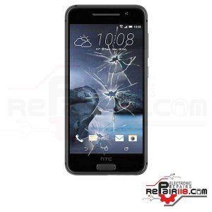 قیمت تعویض گلس ال سی دی گوشی اچ تی سی HTC One A9
