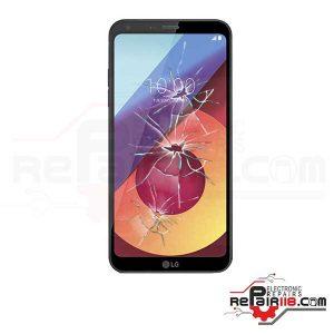 قیمت تعویض گلس ال سی دی گوشی ال جی LG Q6