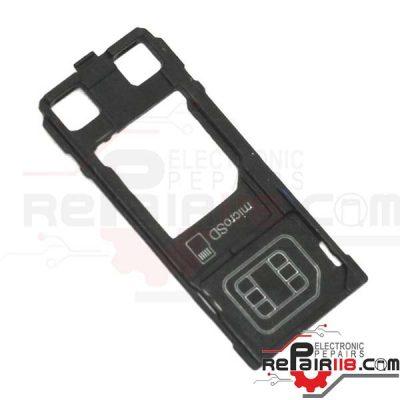 خشاب-رم-و-سیم-کارت-گوشی-سونی-اکسپریا-x-compact
