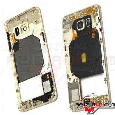فریم وسط گوشی Samsung Galaxy S6 Edge Plus