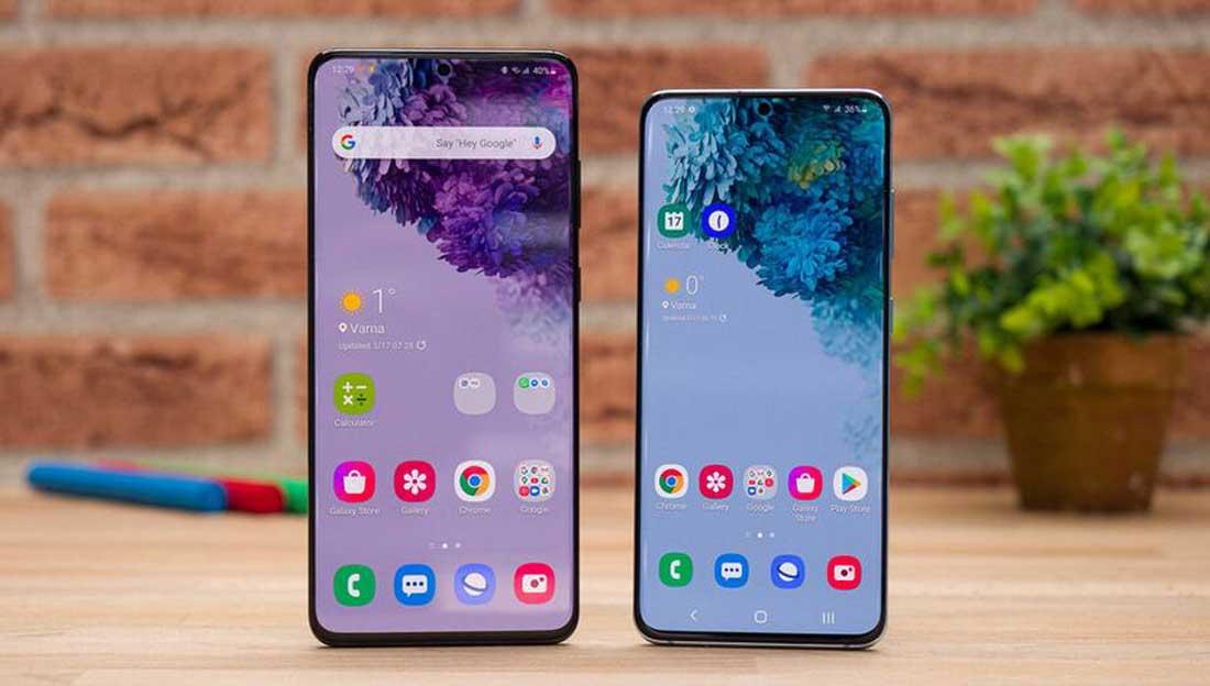 گوشیهای Samsung Galaxy S20 و Samsung Galaxy S20 Plus