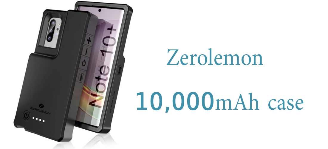 1. قاب Zerolemon با ظرفیت 10000 میلی آمپر ساعت