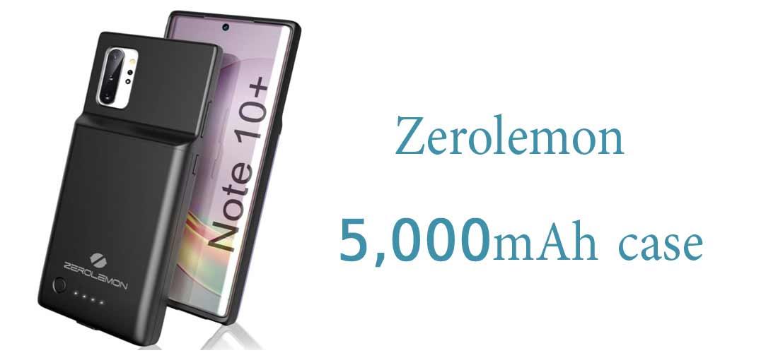 قاب Zerolemon با حجم کمتر 5000 میلی آمپر ساعت