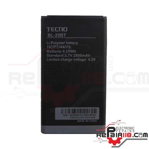 باتری گوشی تکنو با کد فنی Tecno BL-25BT