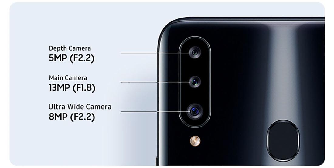 دوربین پشت گوشی سامسونگ Galaxy A20s