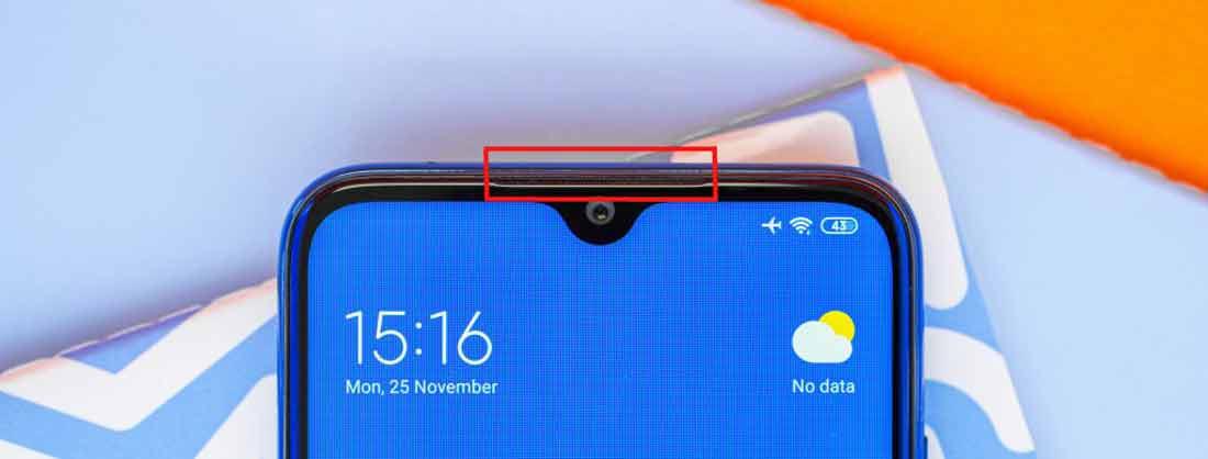 اسپیکر مکالمه شیائومی Redmi Note 8