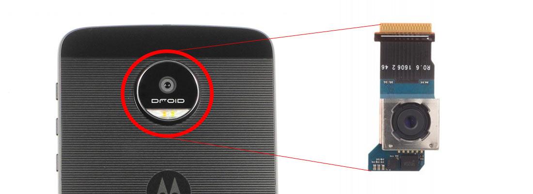 تعویض ئتعویض دوربین پشت موتورولا Moto Z