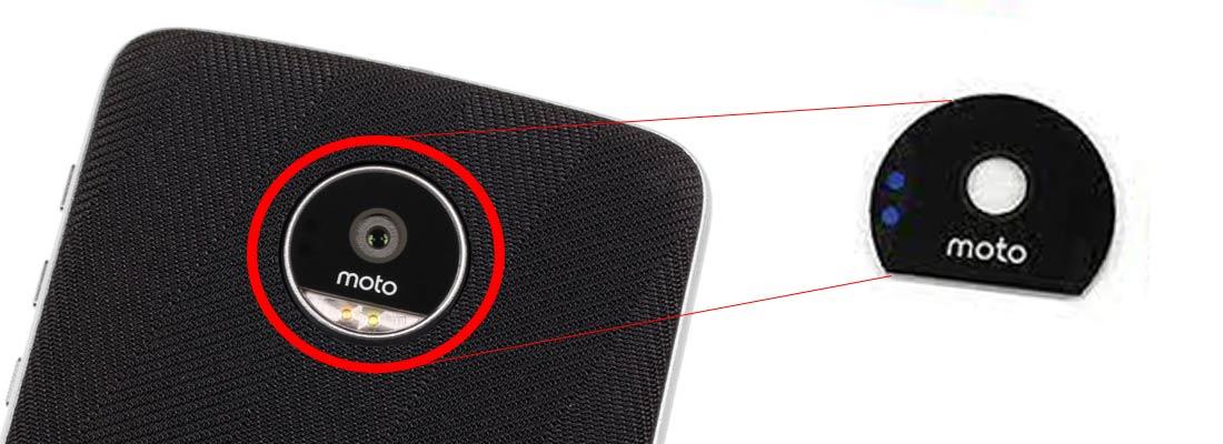 شیشه دوربین موتورولا Moto Z Play